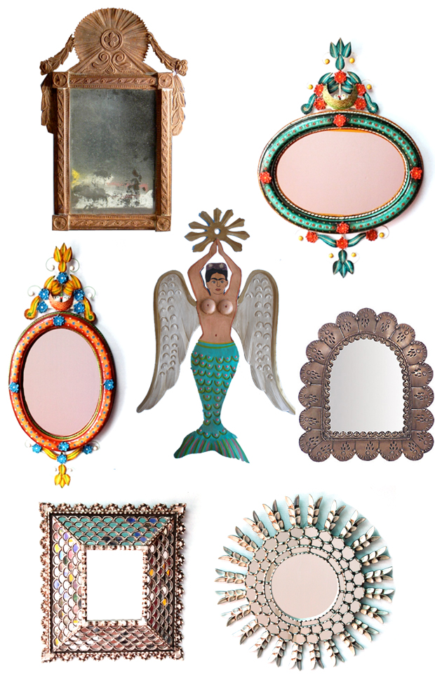 Mermaids Mirrors Justina Blakeney