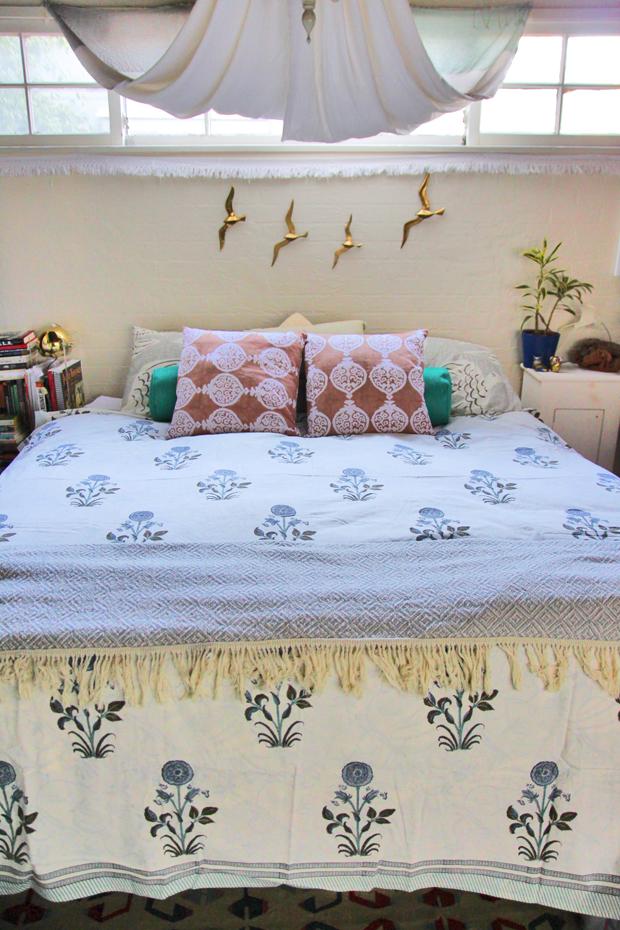 block-print-bed