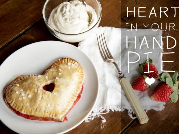 Heart in Hand Pie by Caitlin Levin