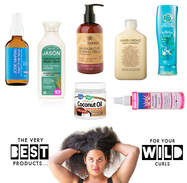 The very best products for your wild curls  The Jungalow
