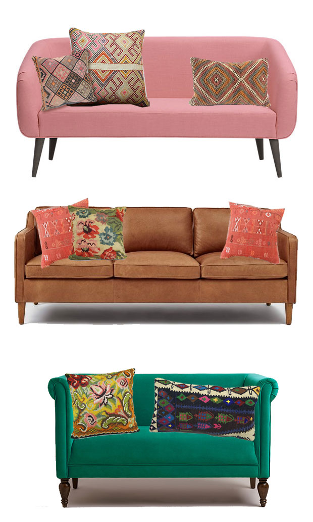 How To Pick And Style Throw Pillows Justina Blakeney