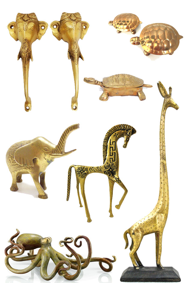 brass-figurines