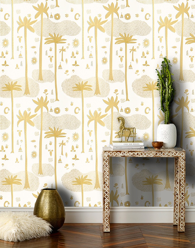 Justina Blakeney X Hygge & West Wallpaper is here! | The Jungalow