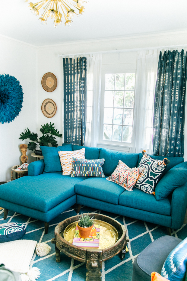 Our new Family Room! Before & After with @JonathanLouis | The Jungalow