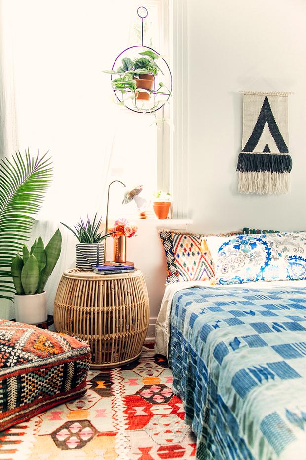 bohemian-style-bedroom