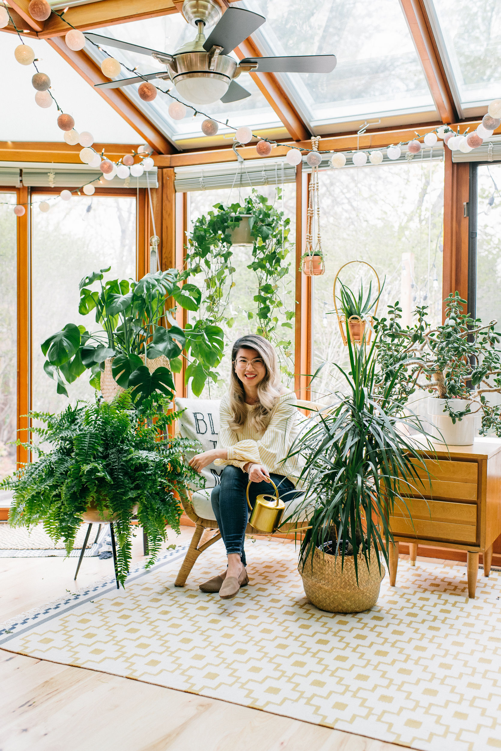 #thekwendyhome sunroom with Wendy Lau