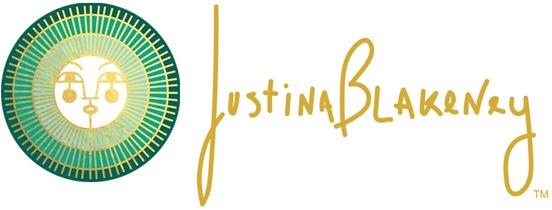 Justina Blakeney logo